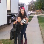 """Me & my lil on camera brother """"Myles"""""""