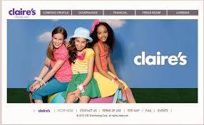 Claire's Accessories Online