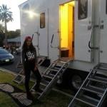 My dressing room trailer