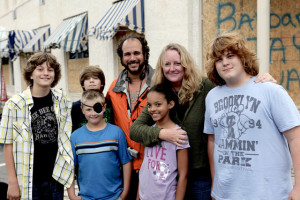 Kids w/Director/Writer Jesse Wolfe and Producer Susan Johnson